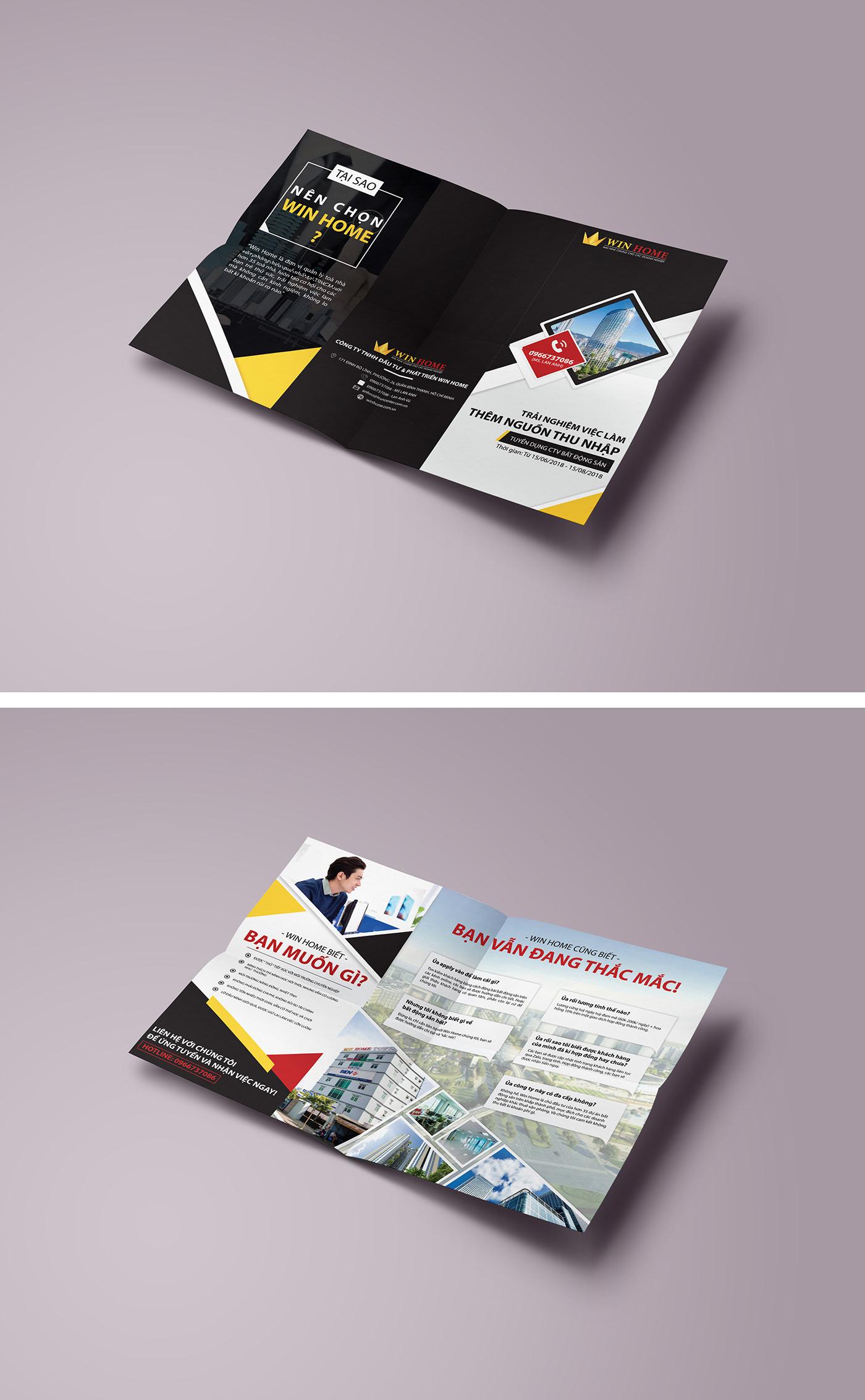 Thiết kế flyer tại thegioidohoa