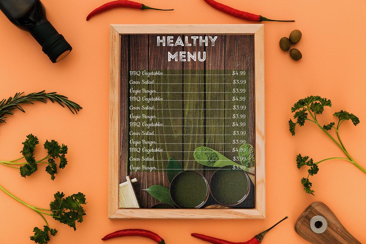 menu chay