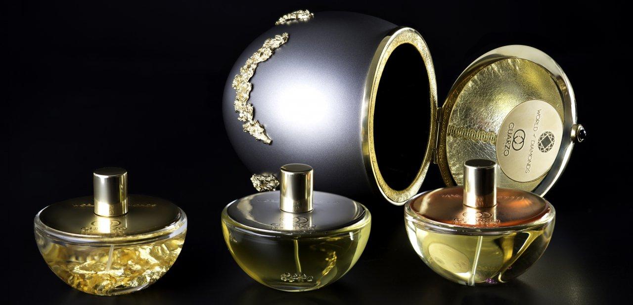 las tres fragancias de the royale dream y el huevo de faberge que las contiene