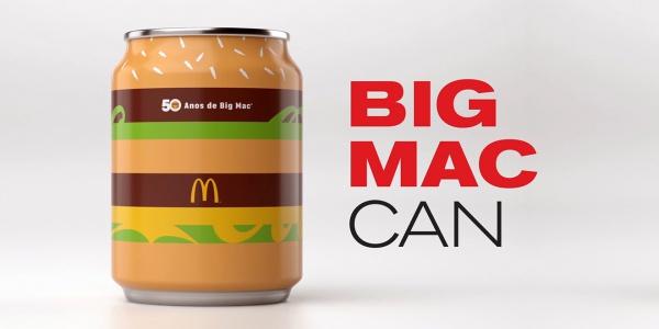 """Tuần này, bất kì ai nhận được được lon coke đặc biệt này đều được khuyến khích đăng một tấm hình với hashtag #BigMacCan, thế nên hãy chú ý đến những hành động của chiếc """"burger"""" này trên Instagram nhé."""