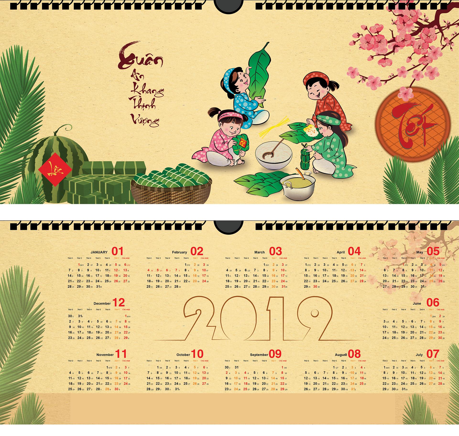 Lịch âm dương là loại lịch mà hầu hết người dân Việt đều sử dụng